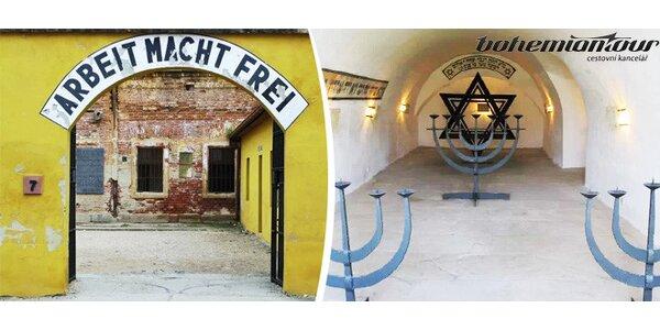 Poznávací zájezd do koncentračního tábora Terezín a kostnice a katedrála Sedlec