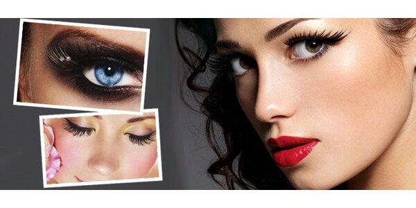 Prodloužení řas Blink LASHES®and CARE + kosmetická masáž arganovým olejem
