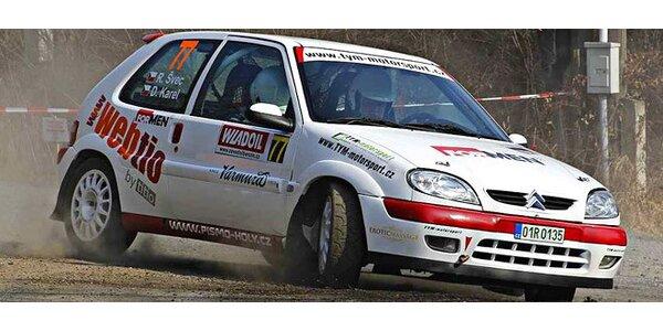 Dvojboj rallye v závodních autech!