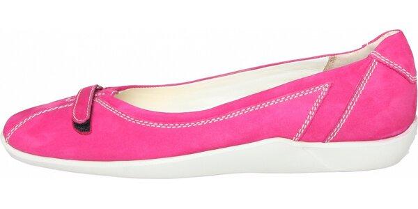 215cc700a1 Dámské růžové baleríny Fratelli Rossetti