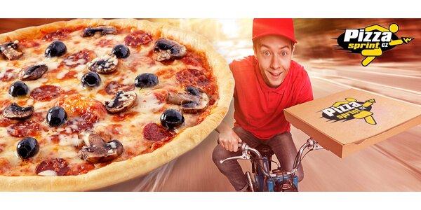 2 pizzy dle výběru, možno s rozvozem