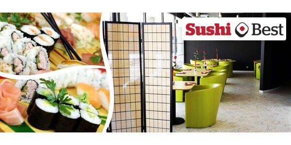 Sushi menu pro 2 osoby v Sushi Best (27 ks)