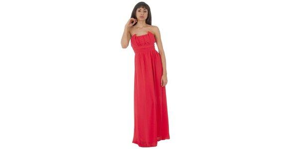 Dámské dlouhé červené šaty Paola Pitti
