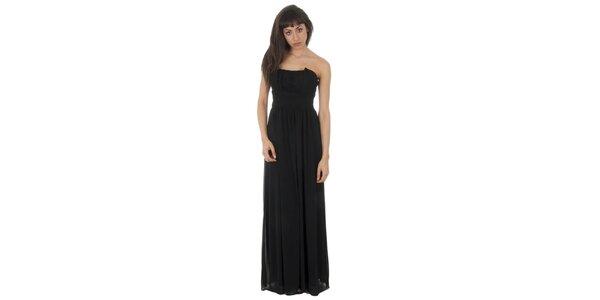 Dámské dlouhé černé šaty Paola Pitti
