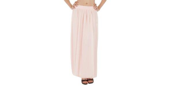 Dámská světle růžová dlouhá sukně v Paola Pitti