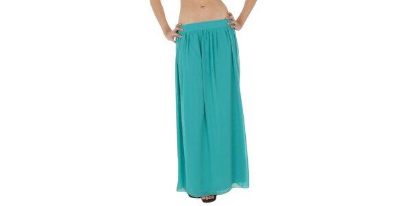 Dámská tyrkysová dlouhá sukně Paola Pitti