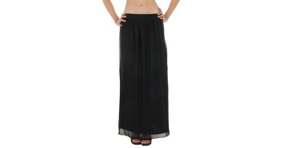 Dámská černá dlouhá sukně Paola Pitti