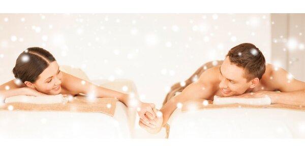 Partnerská thajská olejová masáž - 2x 60 minut