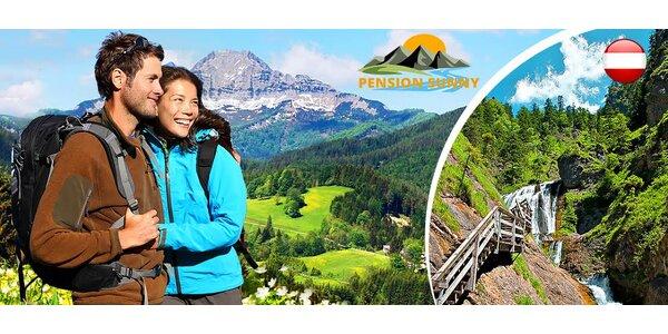 Jarní či letní relax v Alpách pro dva