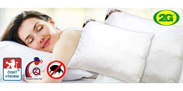 Polštáře Microstop ideální pro alergiky