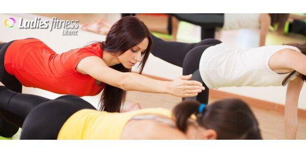 2 lekce cvičení v dámském fitness. Nově i TRX