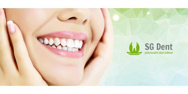 Kompletní zubní implantát na klinice SG Dent