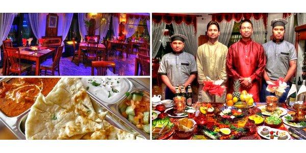249 Kč za vynikající indické jídlo pro DVA v hodnotě 500 Kč!