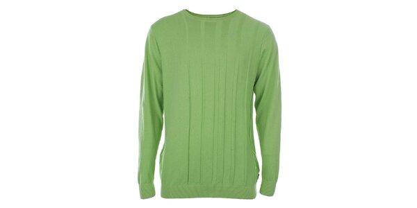 Pánský zelený svetr Pietro Filipi