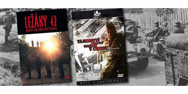 2 DVD filmy pro milovníky historie