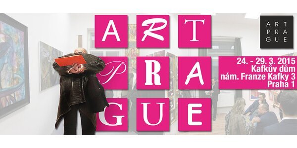 Vstup na přehlídku současného výtvarného umění ART PRAGUE