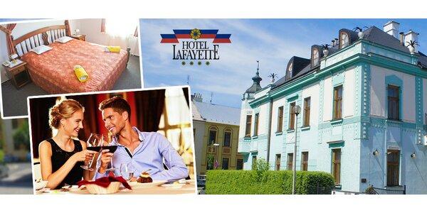 Víkendový pobyt pro dva v hotelu Lafayette****