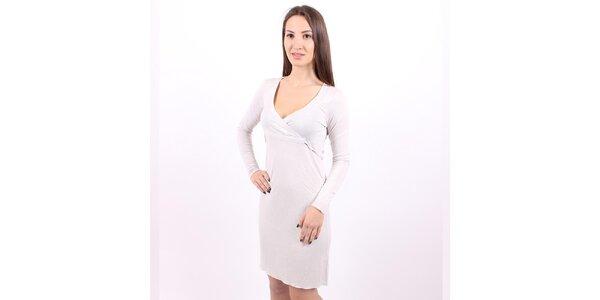 Dámské stříbrné šaty Enelle