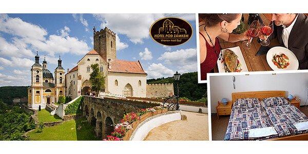 Romantika u Vranovské přehrady a zámku