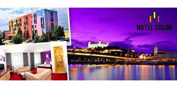 Do bratislavského Hotelu Color za kulturou a nákupy