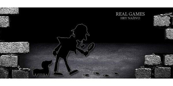 Záhadný pokoj - detektivní Live úniková hra