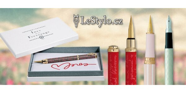 Luxusní francouzská pera