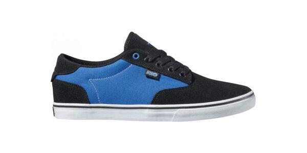 Pánské modro-černé tenisky DVS