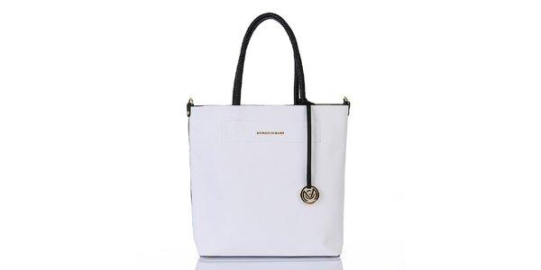 Dámská bílá kabelka s vnitřní taštičkou Giorgio di Mare