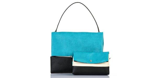 Dámská trojbarevná kabelka s vyjímatelnou taštičkou Giorgio di Mare