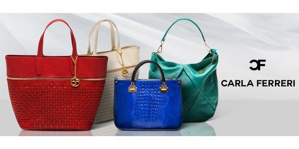 Luxusní dámské kabelky Carla Ferreri