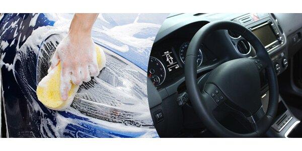 Ruční mytí auta. 3 mycí programy na výběr