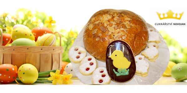 Velikonoční balíček s mazancem