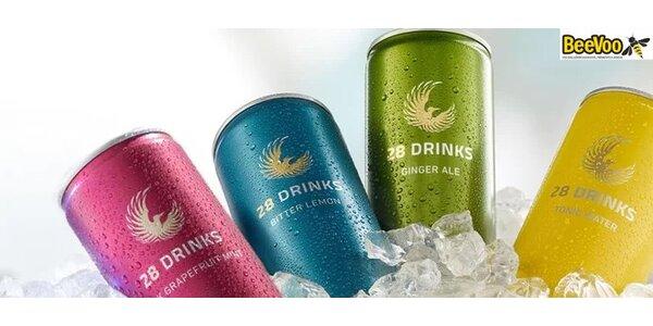Kvalitní ochucené limonády 28 DRINKS