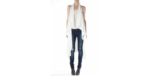 Dámská bílá vesta Gene