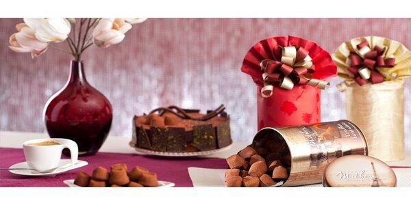 Čokoládové lanýže Mathez 500g