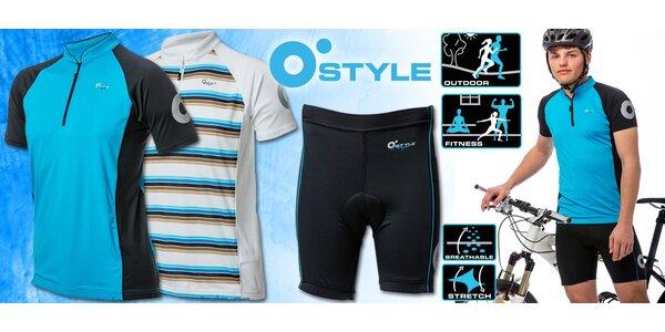 Cyklistická trička a šortky O'Style pro muže