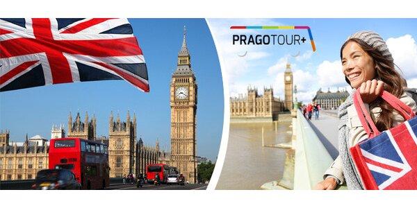 Nákupní a poznávací výlet do Londýna