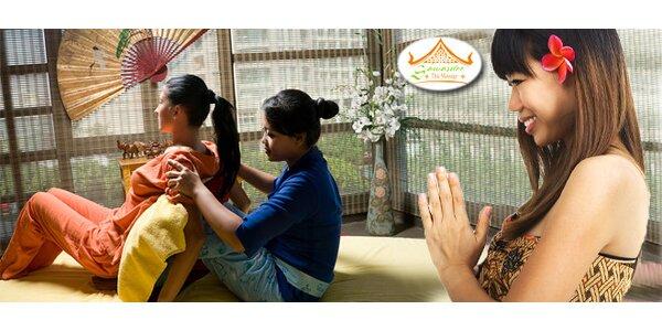 Tradiční thajské masáže v salonu Sawasdee