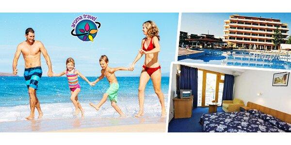 Týdenní dovolená na bulharském Slunečném pobřeží v Park Hotel Continental **