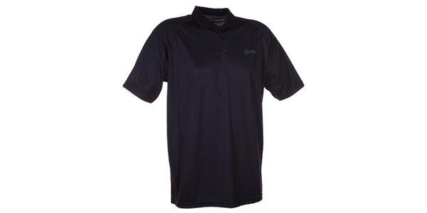 Pánské černé technické polo tričko Kilpi