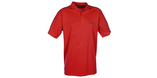 Pánské červené funkční polo tričko Kilpi