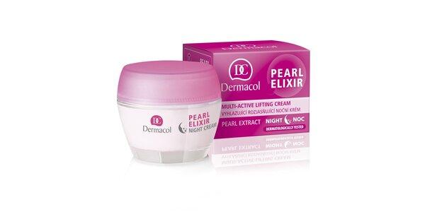 Pearl Elixir - vyhlazující rozjasňující noční krém