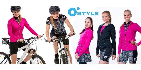 Cyklistická trička a šortky O'Style pro ženy