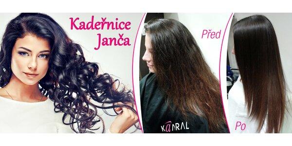 Stříhání, barva i keratin pro nádherné vlasy