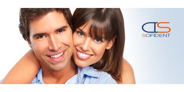 Profesionální dentální hygiena v Sofident (až 60 min)