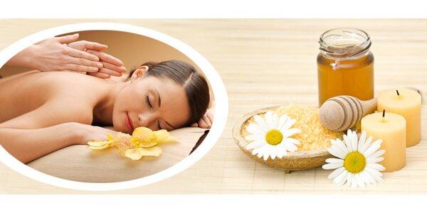 Jarní detoxikační medová masáž, včetně privátní infrasauny a zábalu, v salonu u…
