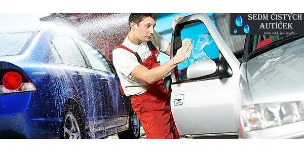 Šetrné ruční mytí a voskování vozidla