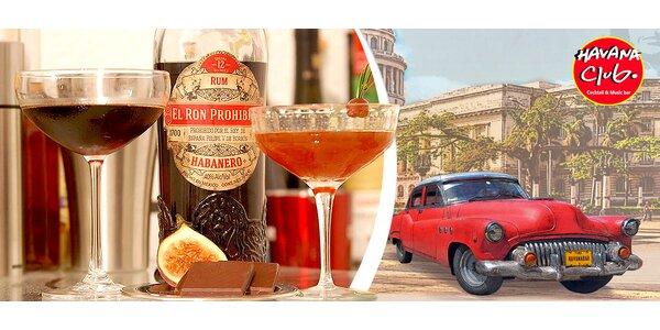 30% sleva na koktejly v Havana Club Baru
