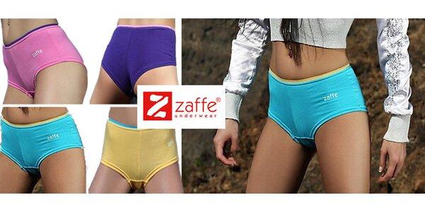 3 ks barevných dámských boxerek Zaffe včetně poštovného