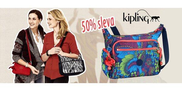 Sleva 50 % na produkty Kipling